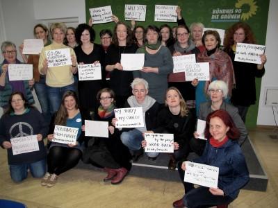 Die BAG Frauenpolitik solidarisiert sich auf ihrer Tagung im Januar 2017 mit den Protesten gegen Donald Trump und mit dem #WomensMarch.